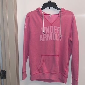 Under Armour breast cancer awareness hoodie
